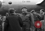 Image of Clement R Attlee Berlin Germany Gatow Airport, 1945, second 55 stock footage video 65675052647