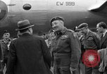 Image of Clement R Attlee Berlin Germany Gatow Airport, 1945, second 56 stock footage video 65675052647