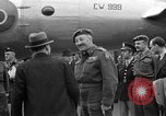 Image of Clement R Attlee Berlin Germany Gatow Airport, 1945, second 57 stock footage video 65675052647