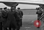Image of Clement R Attlee Berlin Germany Gatow Airport, 1945, second 58 stock footage video 65675052647
