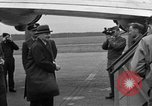 Image of Clement R Attlee Berlin Germany Gatow Airport, 1945, second 59 stock footage video 65675052647