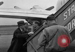 Image of Clement R Attlee Berlin Germany Gatow Airport, 1945, second 61 stock footage video 65675052647