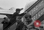 Image of Clement R Attlee Berlin Germany Gatow Airport, 1945, second 62 stock footage video 65675052647