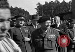 Image of Winston Churchill Berlin Germany Gatow Airport, 1945, second 7 stock footage video 65675052650