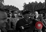 Image of Winston Churchill Berlin Germany Gatow Airport, 1945, second 10 stock footage video 65675052650