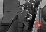 Image of Winston Churchill Berlin Germany Gatow Airport, 1945, second 16 stock footage video 65675052650