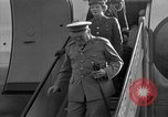 Image of Winston Churchill Berlin Germany Gatow Airport, 1945, second 17 stock footage video 65675052650