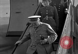 Image of Winston Churchill Berlin Germany Gatow Airport, 1945, second 18 stock footage video 65675052650