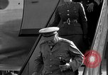 Image of Winston Churchill Berlin Germany Gatow Airport, 1945, second 19 stock footage video 65675052650