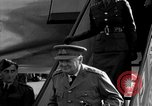 Image of Winston Churchill Berlin Germany Gatow Airport, 1945, second 20 stock footage video 65675052650