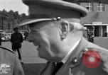 Image of Winston Churchill Berlin Germany Gatow Airport, 1945, second 24 stock footage video 65675052650