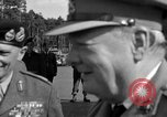 Image of Winston Churchill Berlin Germany Gatow Airport, 1945, second 25 stock footage video 65675052650