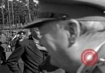 Image of Winston Churchill Berlin Germany Gatow Airport, 1945, second 26 stock footage video 65675052650