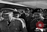 Image of Winston Churchill Berlin Germany Gatow Airport, 1945, second 28 stock footage video 65675052650