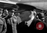 Image of Winston Churchill Berlin Germany Gatow Airport, 1945, second 32 stock footage video 65675052650