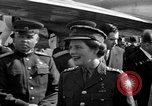Image of Winston Churchill Berlin Germany Gatow Airport, 1945, second 33 stock footage video 65675052650