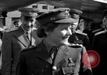 Image of Winston Churchill Berlin Germany Gatow Airport, 1945, second 34 stock footage video 65675052650