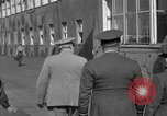 Image of Winston Churchill Berlin Germany Gatow Airport, 1945, second 41 stock footage video 65675052650