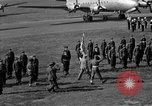 Image of Winston Churchill Berlin Germany Gatow Airport, 1945, second 48 stock footage video 65675052650