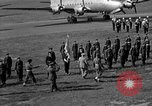Image of Winston Churchill Berlin Germany Gatow Airport, 1945, second 49 stock footage video 65675052650