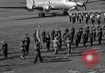 Image of Winston Churchill Berlin Germany Gatow Airport, 1945, second 50 stock footage video 65675052650
