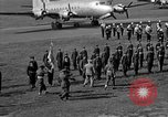 Image of Winston Churchill Berlin Germany Gatow Airport, 1945, second 51 stock footage video 65675052650