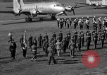 Image of Winston Churchill Berlin Germany Gatow Airport, 1945, second 53 stock footage video 65675052650