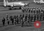 Image of Winston Churchill Berlin Germany Gatow Airport, 1945, second 54 stock footage video 65675052650