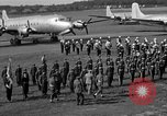 Image of Winston Churchill Berlin Germany Gatow Airport, 1945, second 56 stock footage video 65675052650