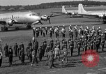 Image of Winston Churchill Berlin Germany Gatow Airport, 1945, second 57 stock footage video 65675052650