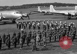 Image of Winston Churchill Berlin Germany Gatow Airport, 1945, second 58 stock footage video 65675052650