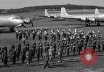 Image of Winston Churchill Berlin Germany Gatow Airport, 1945, second 59 stock footage video 65675052650