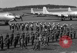 Image of Winston Churchill Berlin Germany Gatow Airport, 1945, second 60 stock footage video 65675052650