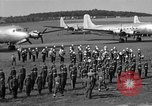 Image of Winston Churchill Berlin Germany Gatow Airport, 1945, second 62 stock footage video 65675052650