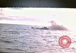 Image of Submarine USS Barb attacks Japanese ship Pacific Ocean, 1945, second 1 stock footage video 65675052655