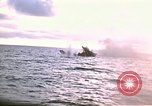 Image of Submarine USS Barb attacks Japanese ship Pacific Ocean, 1945, second 2 stock footage video 65675052655