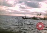 Image of Submarine USS Barb attacks Japanese ship Pacific Ocean, 1945, second 7 stock footage video 65675052655