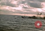 Image of Submarine USS Barb attacks Japanese ship Pacific Ocean, 1945, second 8 stock footage video 65675052655