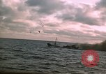 Image of Submarine USS Barb attacks Japanese ship Pacific Ocean, 1945, second 15 stock footage video 65675052655