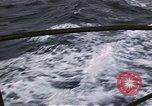 Image of Submarine USS Barb attacks Japanese ship Pacific Ocean, 1945, second 27 stock footage video 65675052655