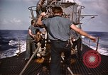 Image of Submarine USS Barb attacks Japanese ship Pacific Ocean, 1945, second 52 stock footage video 65675052655