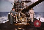 Image of Submarine USS Barb attacks Japanese ship Pacific Ocean, 1945, second 60 stock footage video 65675052655