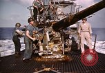 Image of Submarine USS Barb attacks Japanese ship Pacific Ocean, 1945, second 61 stock footage video 65675052655