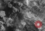 Image of exploding bombs Western Front European Theater, 1943, second 25 stock footage video 65675052656
