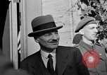 Image of Clement Attlee Potsdam Germany, 1945, second 60 stock footage video 65675052668