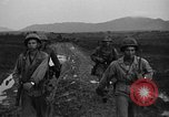 Image of 7th Infantry Division soldiers Kin Okinawa Ryukyu Islands, 1945, second 46 stock footage video 65675052683