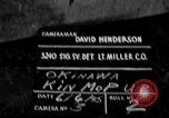 Image of 7th Infantry Division soldiers Kin Okinawa Ryukyu Islands, 1945, second 6 stock footage video 65675052684