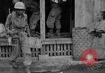 Image of 7th Division infantrymen Kin Okinawa Ryukyu Islands, 1945, second 24 stock footage video 65675052688