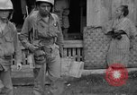 Image of 7th Division infantrymen Kin Okinawa Ryukyu Islands, 1945, second 25 stock footage video 65675052688