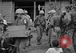 Image of 7th Division infantrymen Kin Okinawa Ryukyu Islands, 1945, second 40 stock footage video 65675052688